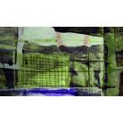 Grid Falling green-bleu