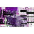 Fringe Upswept pink-violett